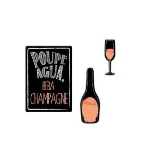 Super Ímãs Champagne 01