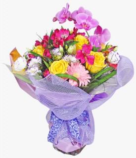 Buquê de flores nobres Prá lá de especial