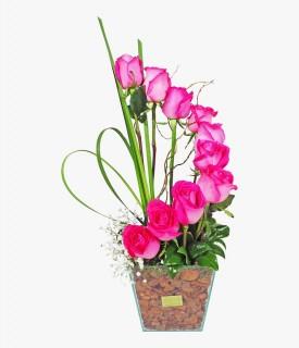 Espiral de Rosas Pink Importadas