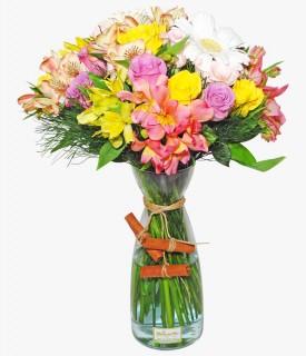 Buquê misto de flores