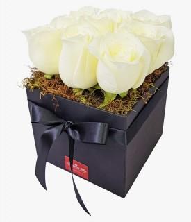Black Gift - rosa branca