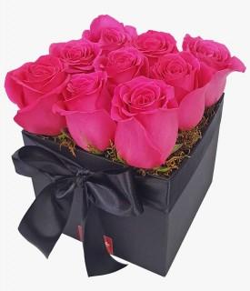 Black Gift - rosa pink