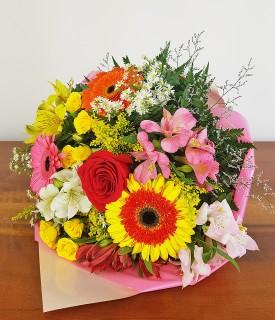 Buquê de flores mistas Carinho em forma de Flor