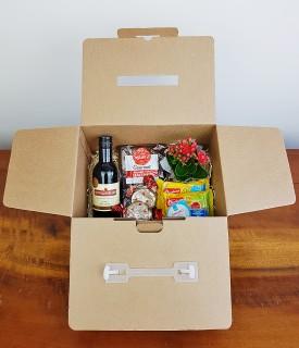 Presente na caixa - Vinho com Petiscos