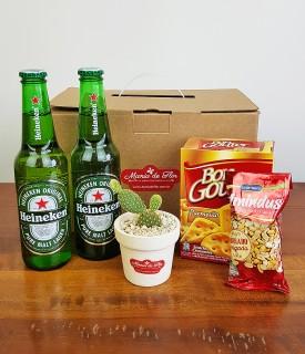 Presente na caixa - Cerveja, Petiscos e Cactus