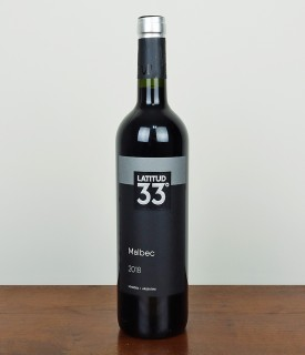 Vinho Latitud 33° Malbec 750ml - Argentina