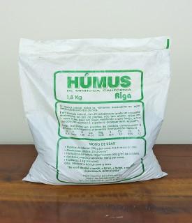 Húmus de minhoca califórnia 1,8kg