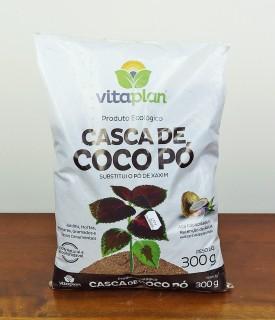 Casca de Coco em pó 300g